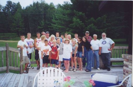 Russell Canoe Livery Employee Party 1998