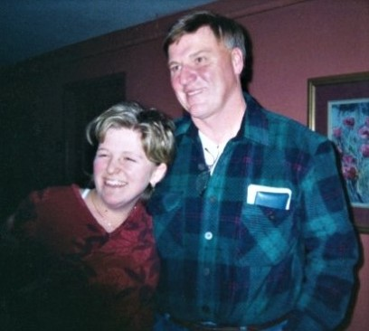 Dad and Me ~ Thanksgiving 2002 - One of my favorite pictures of the two of us!